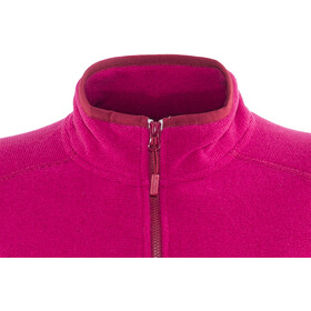 The North Face 100 Glacier Midlayer Mujer, rumba red/cerise pink stripe